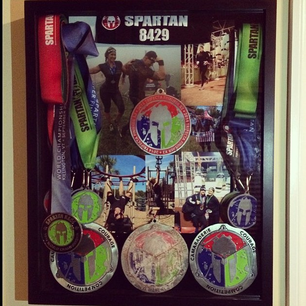 What to do with Spartan Medals