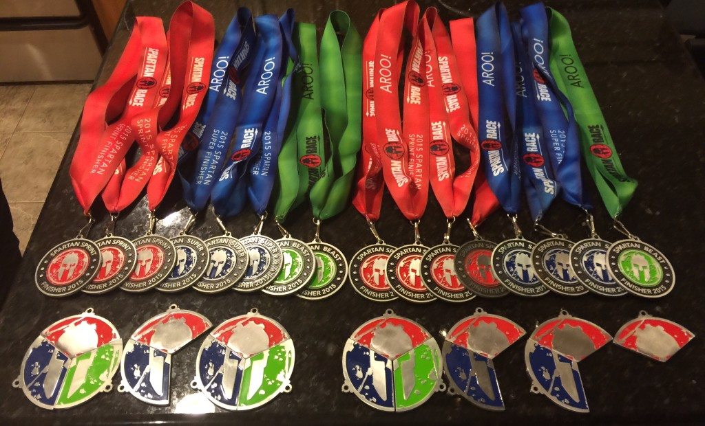 What to do with Race Medals